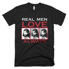 REAL MEN Short sleeve men's t-shirt