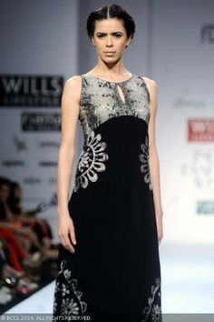 Sucheta Sharma walks the ramp for designer duo Dhruv and Pallavi