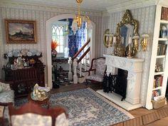 Fairfield Dollhouse 1:24 scale - Living Room