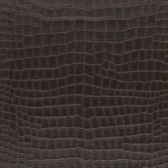 Yacare Crocodile - Mahogany - Textures - Wallcovering - Products - Ralph Lauren Home - RalphLaurenHome.com