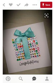 Present Bling Card