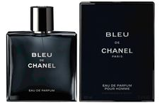 Chanel Bleu De Chanel  woody aromatic fragrance for the man who defies convention and resists the ordinary every day, finding satisfaction in the unexpected. His fragrance, a provocative blend of citrus and woods, liberates the senses in a fresh, clean, profoundly sensual signature scent of determination and desire.