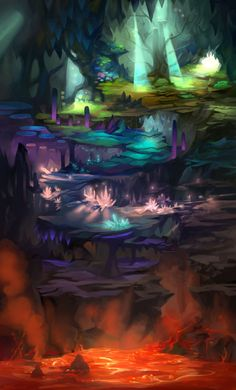 Cave Expansion Map by ethe on DeviantArt