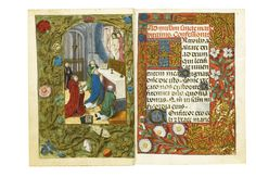The Hours of Dona Violante, Use of Rome, in Latin and Catalan [Spain (Valencia) and southern Netherlands (Bruges), c.1480] | lot | Sotheby's