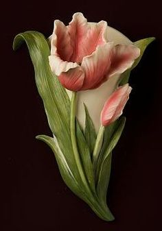 Tulip Wall Vase/Wall Pocket