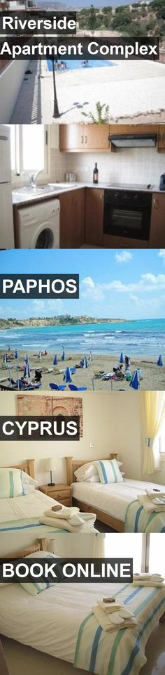 Riverside Apartment Complex in Paphos, Cyprus. For more information, photos, reviews and best prices please follow the link. #Cyprus #Paphos #travel #vacation #apartment