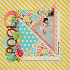 It's All in the Angle by Scrapping with Liz and Loveable (February 2013 SO Mega)