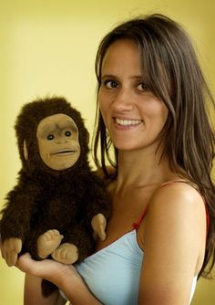 Nina Conti and Monkey.  She's GREAT!