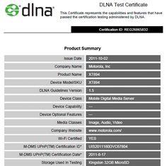 Motorola Droid 4 gains DLNA certification as it slides into Verizon