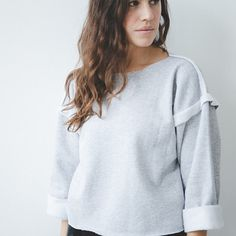 DIY Boxy Sweater | 41 Amazing Free People-Inspired DIYs