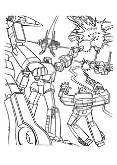 24 best Coloring-Transformers images on Pinterest | Coloring pages ...