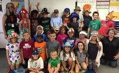Crazy Hat day at John Shields Elementary!