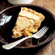 Shaker Lemon Pie by Saveur. This sourish pie, with its marmalade-like filling, is said to have been a specialty of the Ohio branch of the Shaker community.