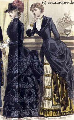 Carriage Dress, House Dress, October 1883