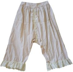 Magnolia Pearl: Sweet tart check cotton Routhie Bloomers