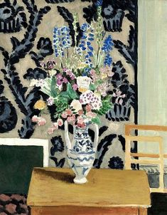 Henri Matisse (is this really Matisse? perhaps matisse inspired? Henri Matisse, Matisse Art, Matisse Paintings, Paintings I Love, Indian Paintings, Artist Painting, Painting & Drawing, Watercolor Artists, Painting Lessons