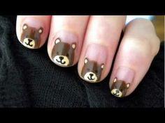 BEAR #nail #nails #nailart