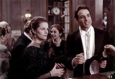"""The Night Porter (1974)  """"Il portiere di notte"""" (original title)Director: Liliana Cavani.Stars: Dirk Bogarde, Charlotte Rampling, Philippe Leroy"""