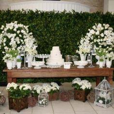 casamento painel com folhas - Pesquisa Google