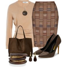 #736 by may-nimo on Polyvore featuring мода, Jil Sander, Rupert Sanderson, Street Level, NEST Jewelry, Effy Jewelry, Melinda Maria, chic, Church and wintersweater