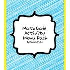 Math practice made easier with my Yearlong Math Cafe Menu Activity Pack!Students will practice their math skills and understand how apply their m...