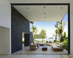 Tour a Breathtaking Family Beach House in Sao Sebastiao, Brazil - Bloomberg