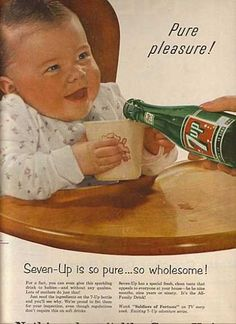 "Before you laugh, think about this: While no company would advocate offering your baby a cup of 7 Up, plenty of them push ""100 percent juice"" drinks on tiny tots -- even though juice drinks often have as much sugar as soda."