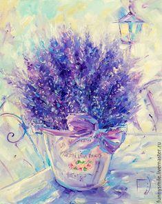 Купить или заказать Картина маслом на холсте 40/50. Из Прованса с любовью. в интернет-магазине на Ярмарке Мастеров.