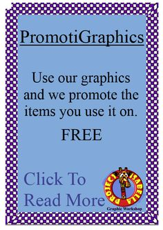 Use graphics and digital art resources purchased from Project Isabella Graphic Workshop and we will promote the item you create and the store it is in for FREE.  It's all part of the service from the Graphic Workshop.  Here we will be publishing a set of articles outlining the benefits and we will gladly publish inspiring stories from members who have been using this FREE service - providing even more exposure for your business.