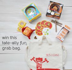 If you love this tote from @mamookids    as much as we do, head over to their Facebook to enter for a chance to win this tote filled with BOG goodies! Head to our Facebook to enter again! #bayareapride #mamookids #blueorangegames #toteallycute