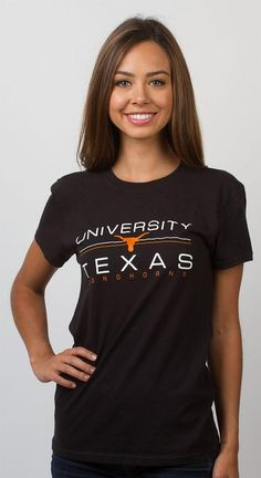 Celebrate your UT pride with the Ladies University of Texas Standard T-Shirt! This shirt is a must have for any Longhorn alumni. Don't delay - order today!