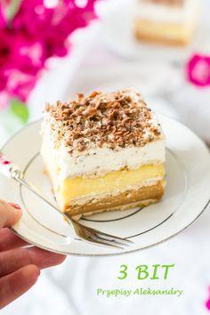 Polish Recipes, Polish Food, Cookie Pie, Some Recipe, No Bake Desserts, Cake Cookies, No Bake Cake, Tiramisu, Sweet Treats
