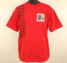 "FIRESTONE /""FIREHAWK/"" Indy Nascar Team Shirt Patch Vintage NOS"