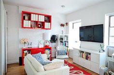 Decoração de pequenos espaços: apartamento de 50 m² cheio de charme e boas ideias - Casinha Arrumada