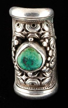 Tibet | Silver and turquoise ring | 300 € ~ sold