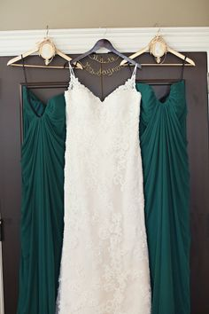 The dresses: http://www.stylemepretty.com/little-black-book-blog/2015/06/17/vintage-glam-north-carolina-farm-wedding/ | Photography: Whitebox Photo - http://whiteboxphoto.com/