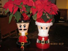 clay pot nutcrackers   Fun with clay pots!!!!!   crafty and fun ideas to make