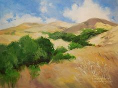Early California Impressionism | ... early California impressionists. Golden hills, oak trees, warm sun and