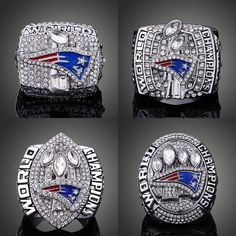 2001 2003 2004 2014 New England #Patriots World Championship Ring - Size 11 from $36.99