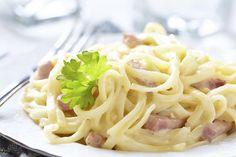 La meilleure recette de pâtes carbonara au Thermomix ! Des spaghettis, du parmesan, du lard,des oeufs ... tout pour réaliser ce plat italien emblématique !