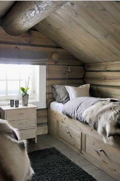 Attic bedroom - picture from Olivia's Heartland
