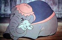 Dumbo (OK I admit it, I can watch Dumbo, Bambi, Old Yeller, the Yearling and a few others and still cry my eyes out!!!)