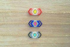 Seed Bead Jewelry, Seed Bead Earrings, Beaded Earrings, Beaded Jewelry, Beaded Bracelets, Bracelets Design, Bracelets Fins, Rakhi Design, Art Perle