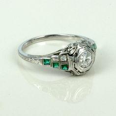 Art Deco Engagement Rings 2
