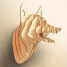 Plywood Fox ! Snow Designs & Interiors