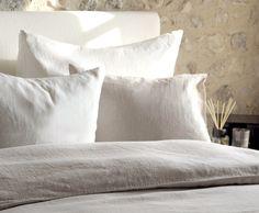 Bed linen, 100% linen, linen melange