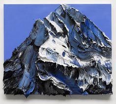 Conrad Jon Godly mountain painting. conradjgodly.com