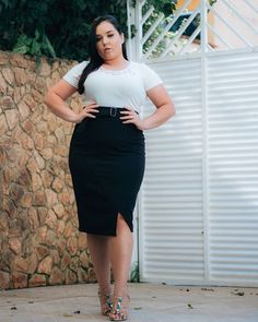 e684b4a6c Curvy Girl Chic Plus Size Fashion Blog Plus Size Crop Top Outfit ...