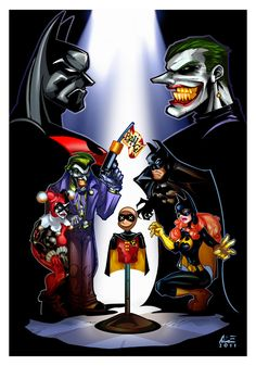BATMAN BEYOND: Return of the Joker, color by ~ALEROGER watch the unrated version