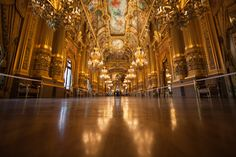 The gorgeous Paris Opera House by Andi Fisher